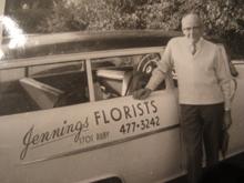 Long View Of Jennings Florists On Estevan Ave