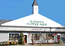 CT wedding florist Hansons Flower Shop