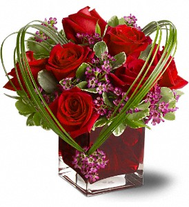 Teleflora's Sweet Thoughts Bouquet with Red Roses in Ypsilanti MI, Norton's Flowers & Gifts