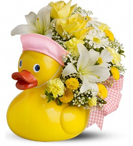 Teleflora's Just Ducky Bouquet - Girl in Baltimore MD, Raimondi's Flowers & Fruit Baskets