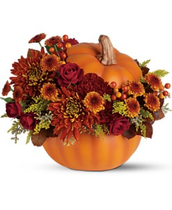 Teleflora's Prize Pumpkin Bouquet in Astoria OR, Erickson Floral Company