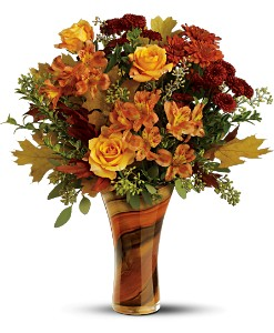 Teleflora's Artful Autumn Bouquet in Blackwood NJ, Chew's Florist
