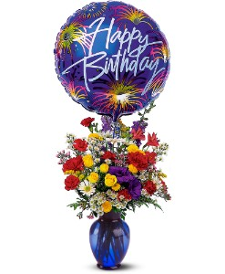 Birthday Fireworks in Greensboro NC, Send Your Love Florist & Gifts