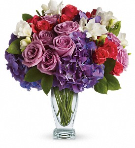 Teleflora's Rhapsody in Purple in Maple ON, Irene's Floral