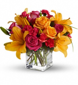Teleflora's Uniquely Chic in Chicago IL, Marcel Florist Inc.