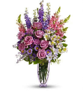 Steal The Show by Teleflora with Roses in Thornhill ON, Wisteria Floral Design