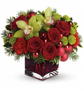 Teleflora's Merry & Bright in Hamilton OH, Gray The Florist, Inc.