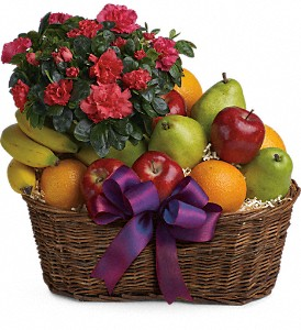 Fruits and Blooms Basket in Canton MS, SuPerl Florist