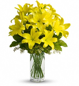 Teleflora's Lily Sunshine in Lenexa KS, Eden Floral and Events