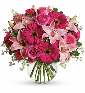 A Little Pink Me Up in Dover OH, Baker Florist, LLC