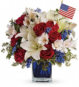America the Beautiful by Teleflora in Lexington KY, Oram's Florist LLC
