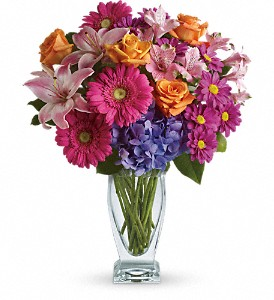 Wondrous Wishes by Teleflora in San Fernando CA, A Flower Anytime