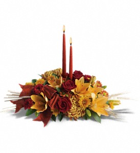 Graceful Glow Centerpiece in Oklahoma City OK, Array of Flowers & Gifts