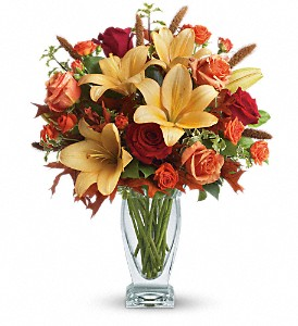 Teleflora's Fall Fantasia in Oklahoma City OK, Array of Flowers & Gifts