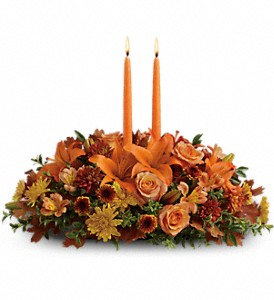 Family Gathering Centerpiece in Jamestown NY, Girton's Flowers & Gifts, Inc.