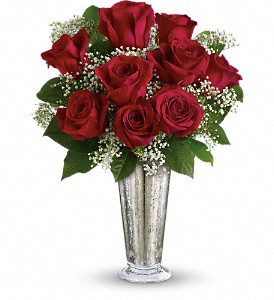 Teleflora's Kiss of the Rose in Lexington KY, Oram's Florist LLC