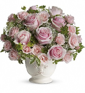 Teleflora's Parisian Pinks with Roses in Tempe AZ, Bobbie's Flowers