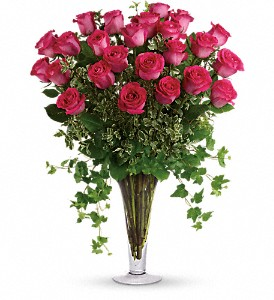 Dreaming in Pink - Long Stemmed Pink Roses in Oklahoma City OK, Array of Flowers & Gifts