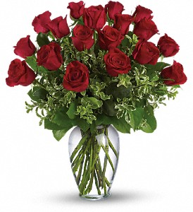 Always on My Mind - Long Stemmed Red Roses in Merced CA, A Blooming Affair Floral & Gifts
