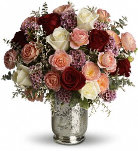 Teleflora's Always Yours Bouquet in Canton NC, Polly's Florist & Gifts