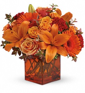 Teleflora's Sunrise Sunset in New York NY, Fellan Florists Floral Galleria