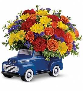 Teleflora's '48 Ford Pickup Bouquet in Bay City MI, Keit's Greenhouses & Floral