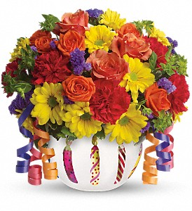 Teleflora's Brilliant Birthday Blooms in Huntington WV, Spurlock's Flowers & Greenhouses, Inc.