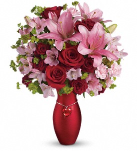 Teleflora's Charm Her Bouquet in Knightstown IN, The Ivy Wreath Floral & Gifts