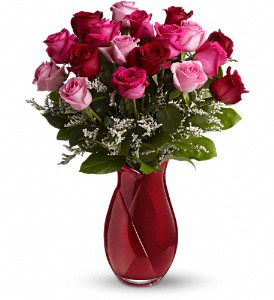 Teleflora's Say I Love You Bouquet - Dozen Roses in Springfield OR, Affair with Flowers