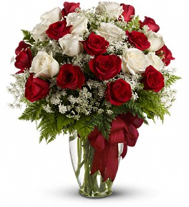 Love's Divine Bouquet - Long Stemmed Roses in Huntington WV, Spurlock's Flowers & Greenhouses, Inc.