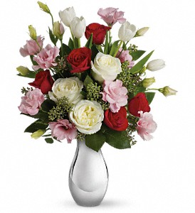 Teleflora's Love Forever Bouquet with Red Roses in Bay City MI, Keit's Greenhouses & Floral