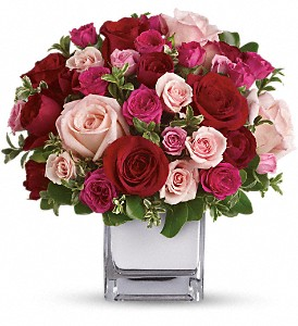 Teleflora's Love Medley Bouquet with Red Roses in DeKalb IL, Glidden Campus Florist & Greenhouse