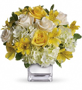 Teleflora's Sweetest Sunrise Bouquet in Asheville NC, Merrimon Florist Inc.