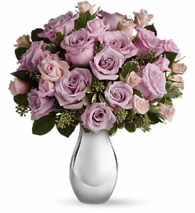 Teleflora's Roses and Moonlight Bouquet in Olean NY, Mandy's Flowers