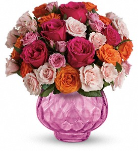 Teleflora's Sweet Fire Bouquet with Roses in San Antonio TX, Flowers By Grace