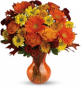 Teleflora's Forever Fall in Jackson MI, Brown Floral Co.