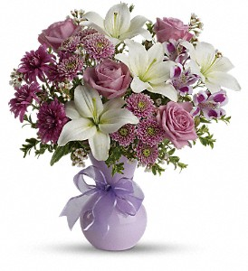 Teleflora's Precious in Purple in Woodbury NJ, C. J. Sanderson & Son Florist