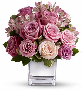 Teleflora's Rose Rendezvous Bouquet in Meadville PA, Cobblestone Cottage and Gardens LLC