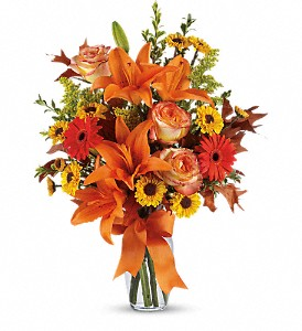 Burst of Autumn in La Marque TX, Dean's Flowers