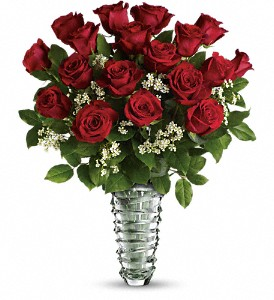Teleflora's Beautiful Bouquet - Long Stemmed Roses in Eugene OR, Rhythm & Blooms