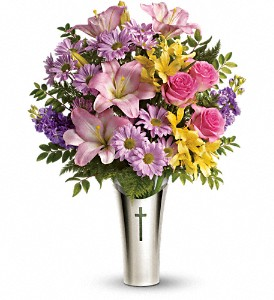 Teleflora's Silver Cross Bouquet in Arizona, AZ, Fresh Bloomers Flowers & Gifts, Inc