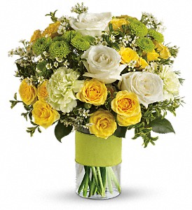 Your Sweet Smile by Teleflora in Hightstown NJ, South Pacific Flowers / Pottery Wheel Gallery