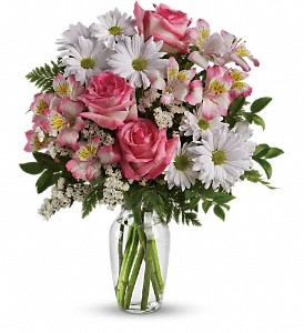 What a Treat Bouquet with Roses in Smyrna GA, Floral Creations Florist