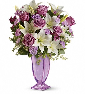 Teleflora's Lavender Love Bouquet in Morristown NJ, Glendale Florist & Gardencenter