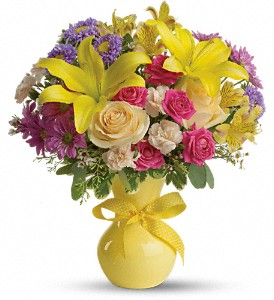 Teleflora's Color It Happy in Bartlett IL, Town & Country Gardens