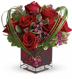 Teleflora's Sweet Thoughts Bouquet with Red Roses in West Bend WI, Bits N Pieces Floral Ltd