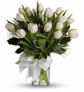 Tulips and Pine in Dallas TX, All Occasions Florist