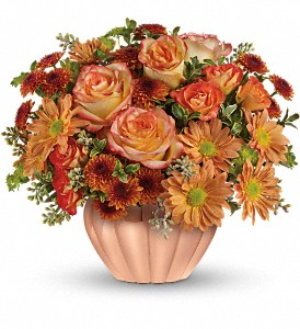Teleflora's Joyful Hearth Bouquet in Freeport IL, Deininger Floral Shop