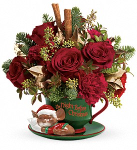 Teleflora's Send a Hug Night Before Christmas in Winter Haven FL, The Wild Hare