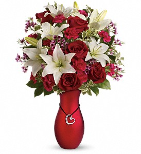 Heartstrings Bouquet by Teleflora in Mooresville&nbsp;NC, All Occasions Florist & Gifts<br>704.799.0474